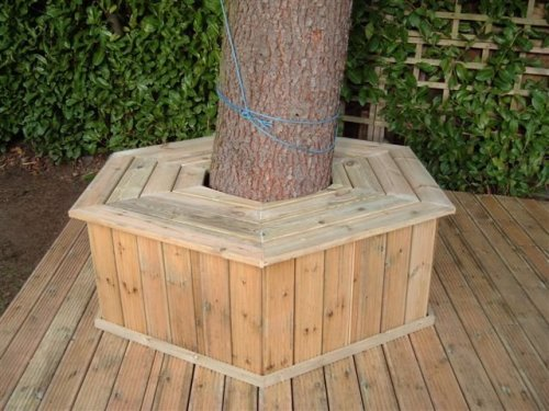 B m mcgll carpenters decking birmingham west midlands for Alternative to decking